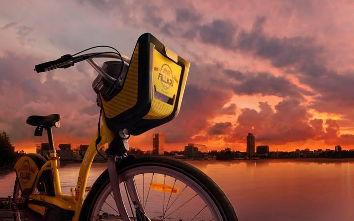 Kaupunkipyörällä Olariumiin!